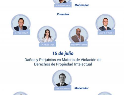 Análisis y revisión de la nueva legislación en materia propiedad intelectual 13-16 de julio